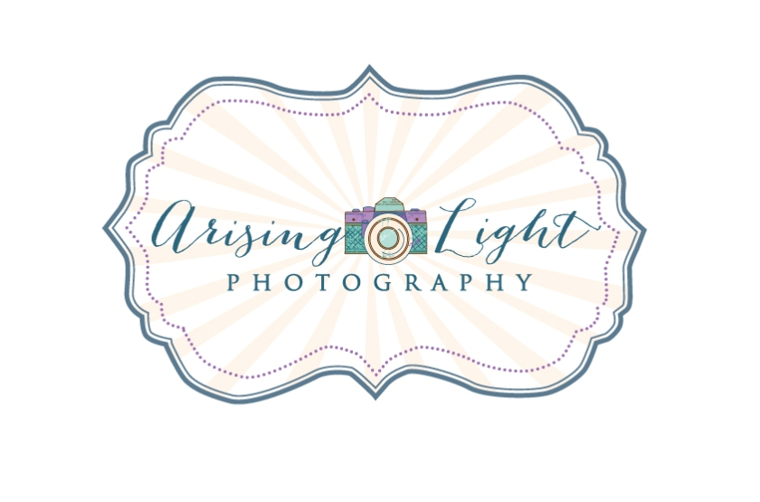 Arising Light Logo with blue rays revised copy